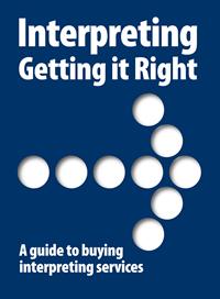 """Guía de Interpretación en inglés: """"Interpreting: Getting it Right"""""""