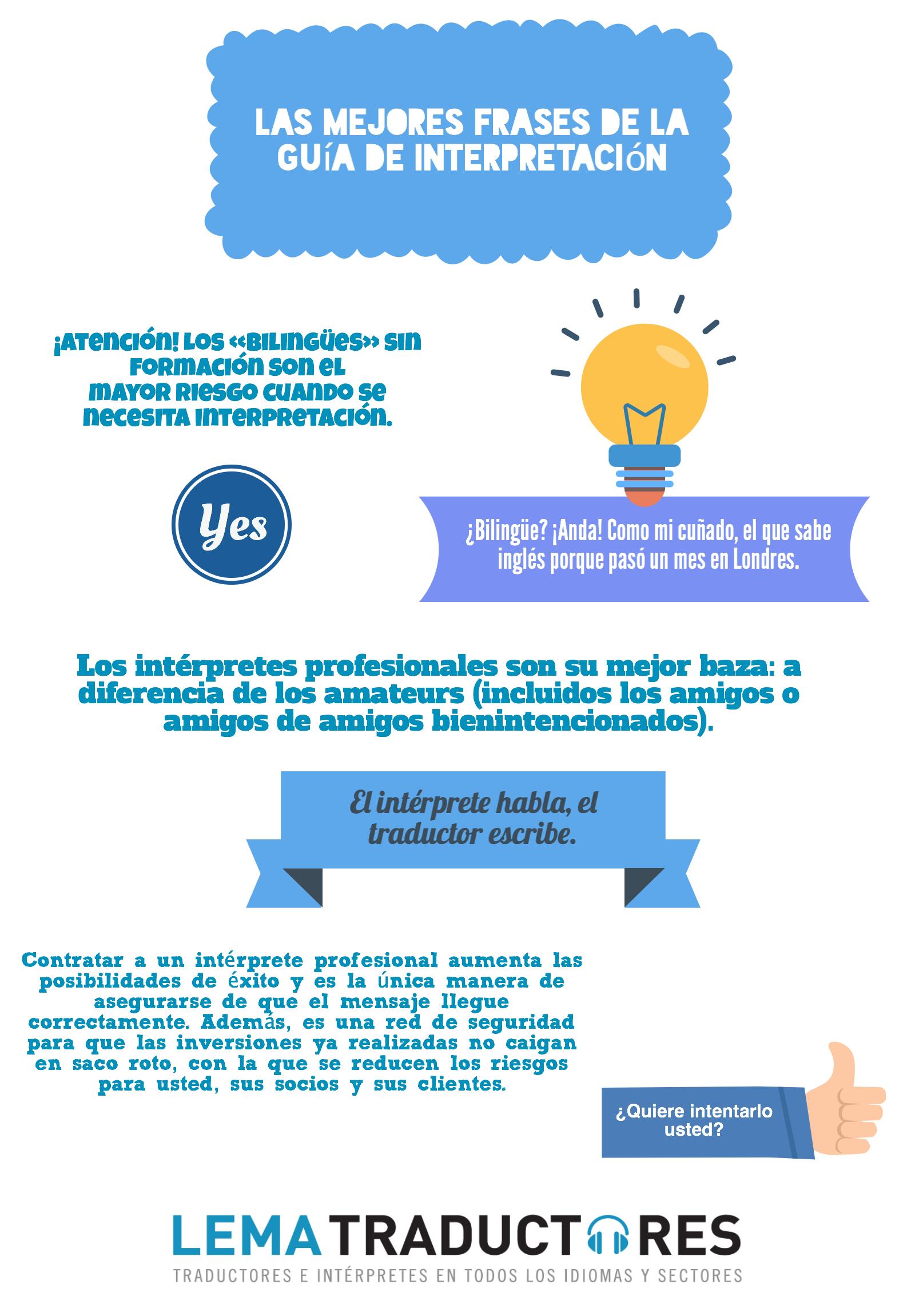 Las 6 Mejores Frases De La Guía De Interpretación Lema