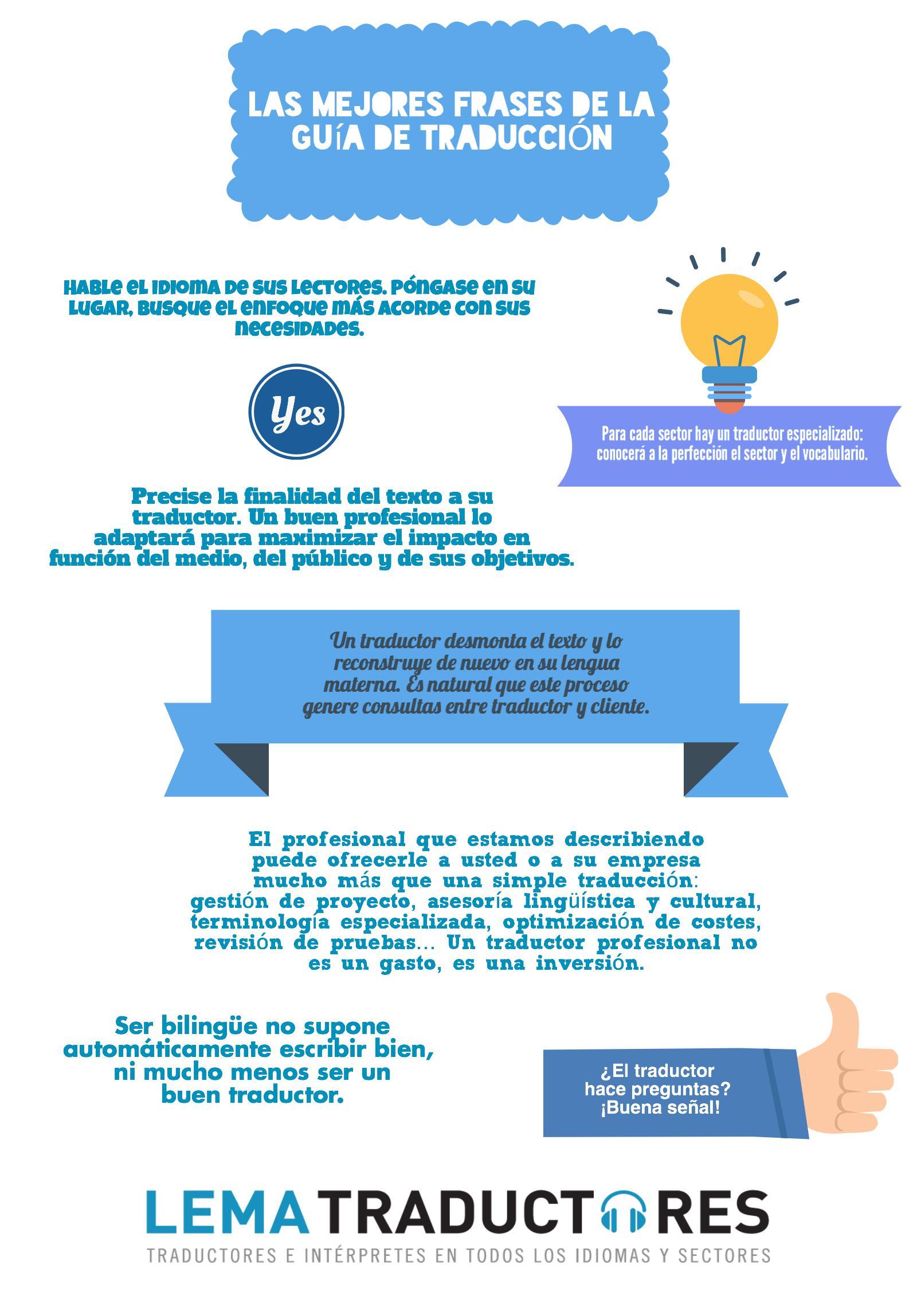 Las Mejores Frases De La Guía De Traducción Lema Traductores