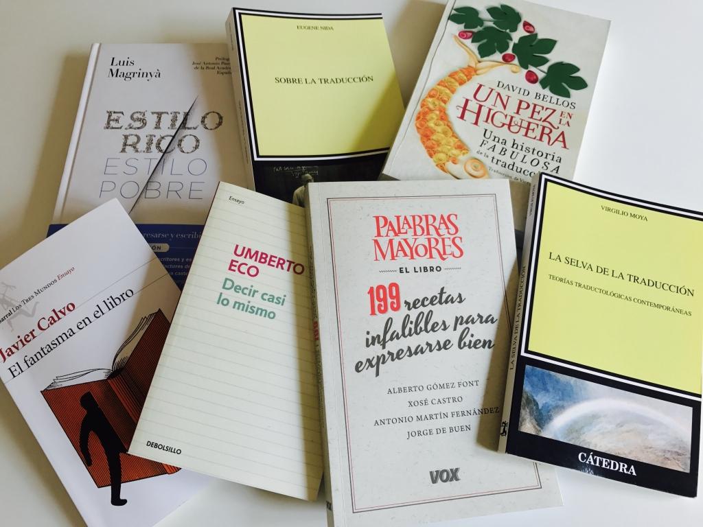 Los 7 mejores libros para traductores