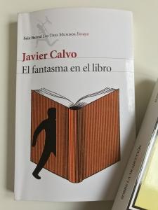 El Fantasma en el Libro, de Javier Calvo