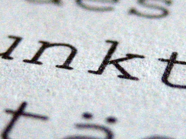 El corrector ortotipográfico desmenuza el texto para encontrar todos sus errores.