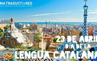 El 23 de abril es el día de la lengua catalana y desde Lema Traductores felicitamos a todos los traductores e intérpretes de catalán..